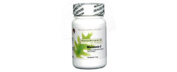 Food Science Of Vermont Melatonin-3 Review