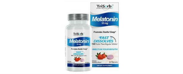 TriSorb Melatonin Fast Dissolves Strawberry Review
