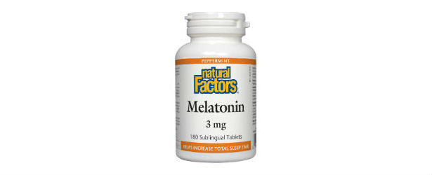 Natural Factors Melatonin Review