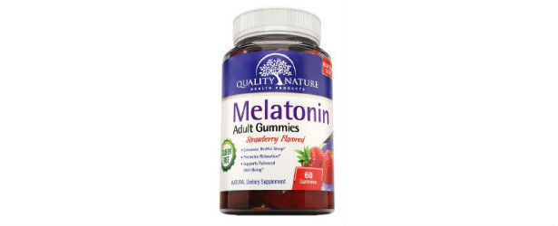 Quality Nature Melatonin Adult Gummies Strawberry Flavored Review