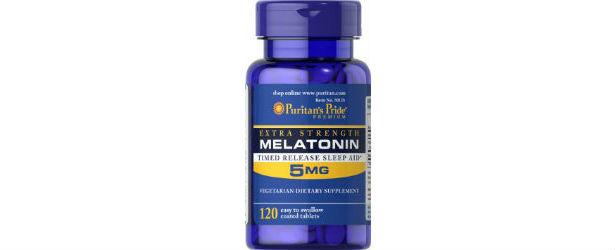 Puritan's Pride Melatonin 5 mg Timed Release Review