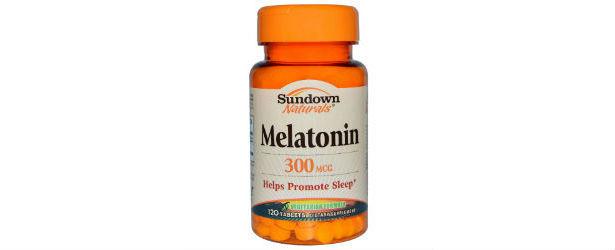 Sundown Naturals Melatonin 300 MCG Supplement Review